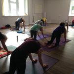 International Yoga Day yoga class