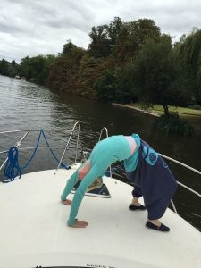 boat yoga picture