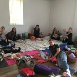 Baby massage class photo