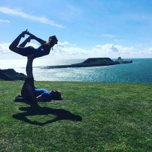 yoga by the sea in cornwall